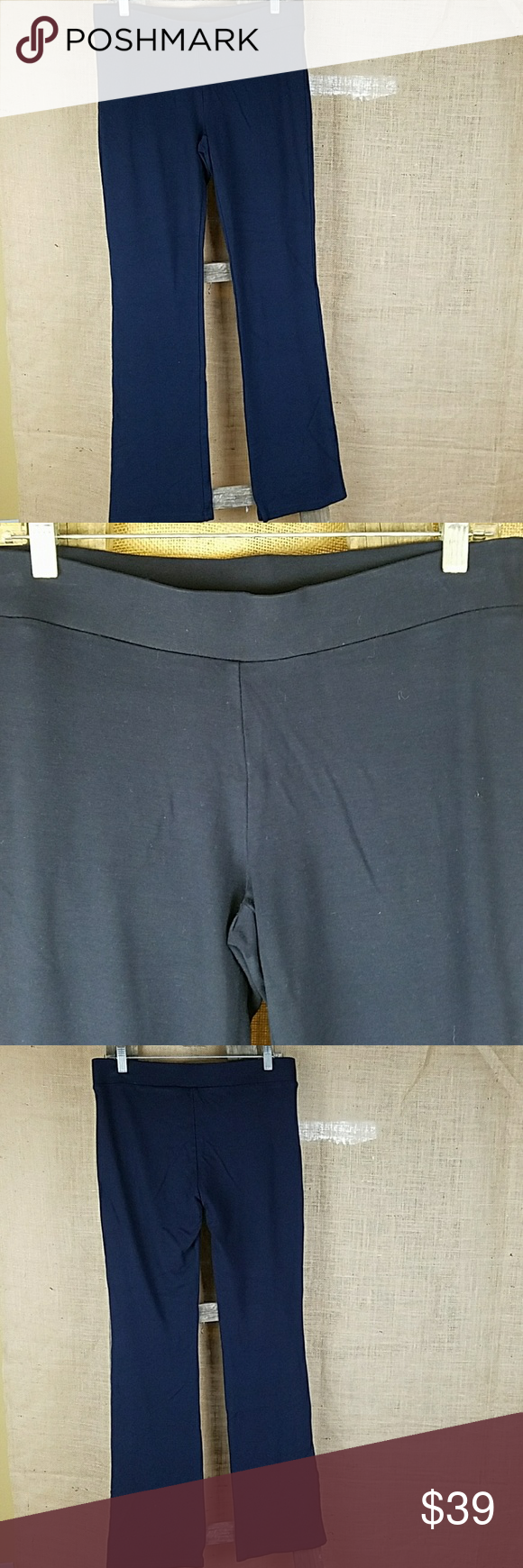 badd757b8a404a CAbi women's M black Nouveau leggings thick slim CAbi women's M black  Nouveau leggings thick slim leg pants. Waist side to side: 16.5