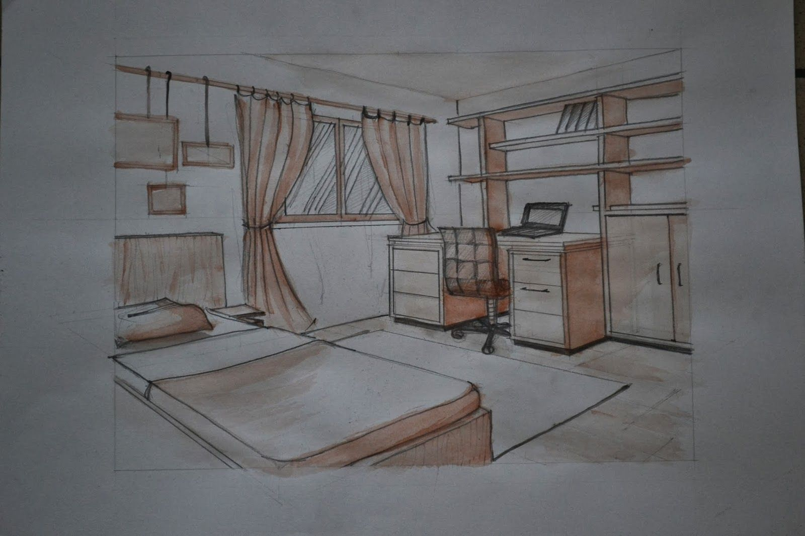 Pin by mermermia on Perspective Drawings Interior