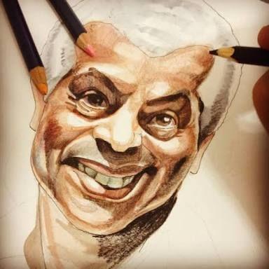 caricatura do cantor Paulinho da Viola | Caricatura, Artistas, Arte