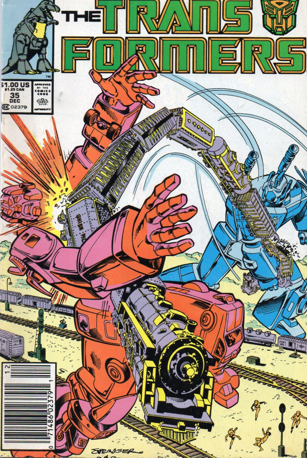 #Vintage #Transformers #Comic #35 - Dec 1987,  View more on the LINK: http://www.zeppy.io/product/gb/3/247216579/