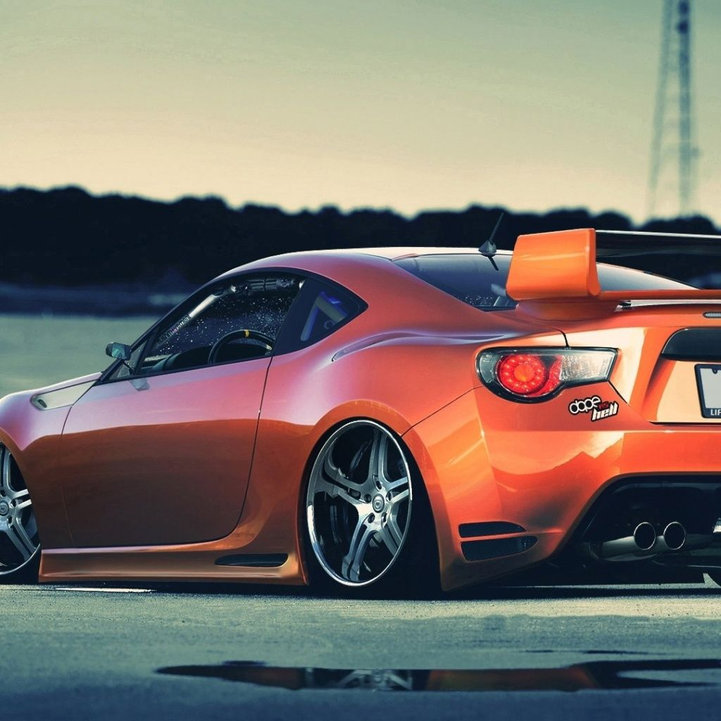 Tuned Car, Very Good Looking Toyota