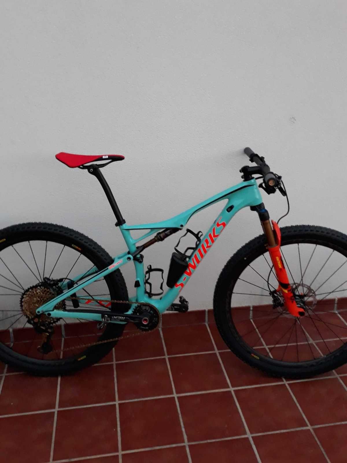 Bicicleta De Montaña Specialized Epic Ref 44521 Talla M Año 2017 Cambio Sram Xx1 Eagle Cuadro De Ca Bicicletas Bicicletas Mountain Bike Bicicletas Enduro