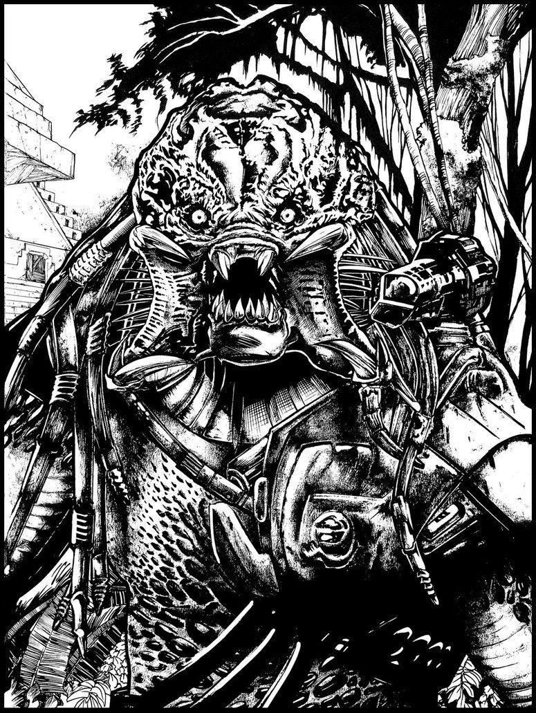 Predator Berserker By Ashasylum On Deviantart Predator Artwork Predator Movie Predator Alien