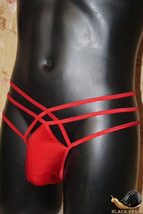 c52cd519e77b81 Men briefs Red lingerie Mens g string Men underwear Brazilian men panties  Sissy lingerie for men Ero