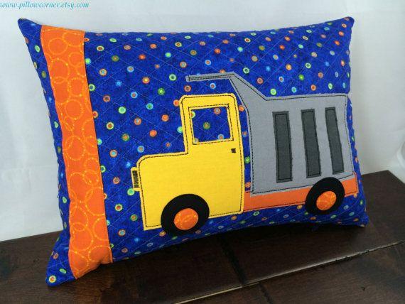 Decorative Childrens Pillow Handmade Truck Pillow By PillowCorner Cool Children's Decorative Pillows