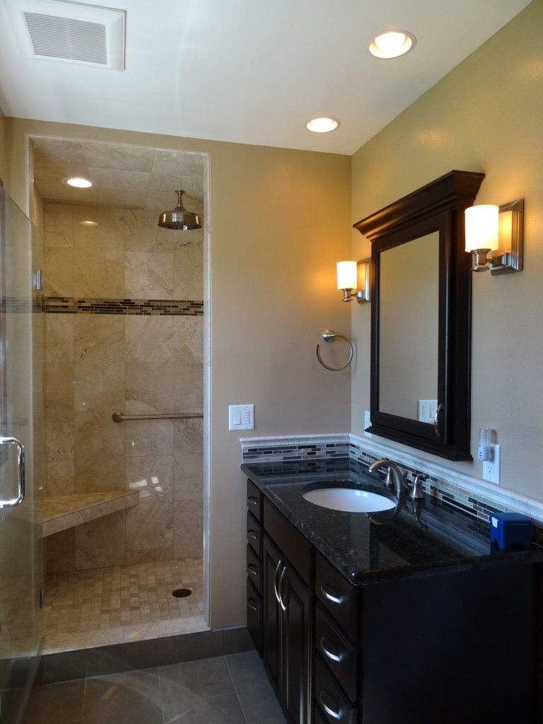 Pin By Tile Trenz On Tile Trenz Complete Kitchen Bath Pinterest - Master bathroom remodel before and after
