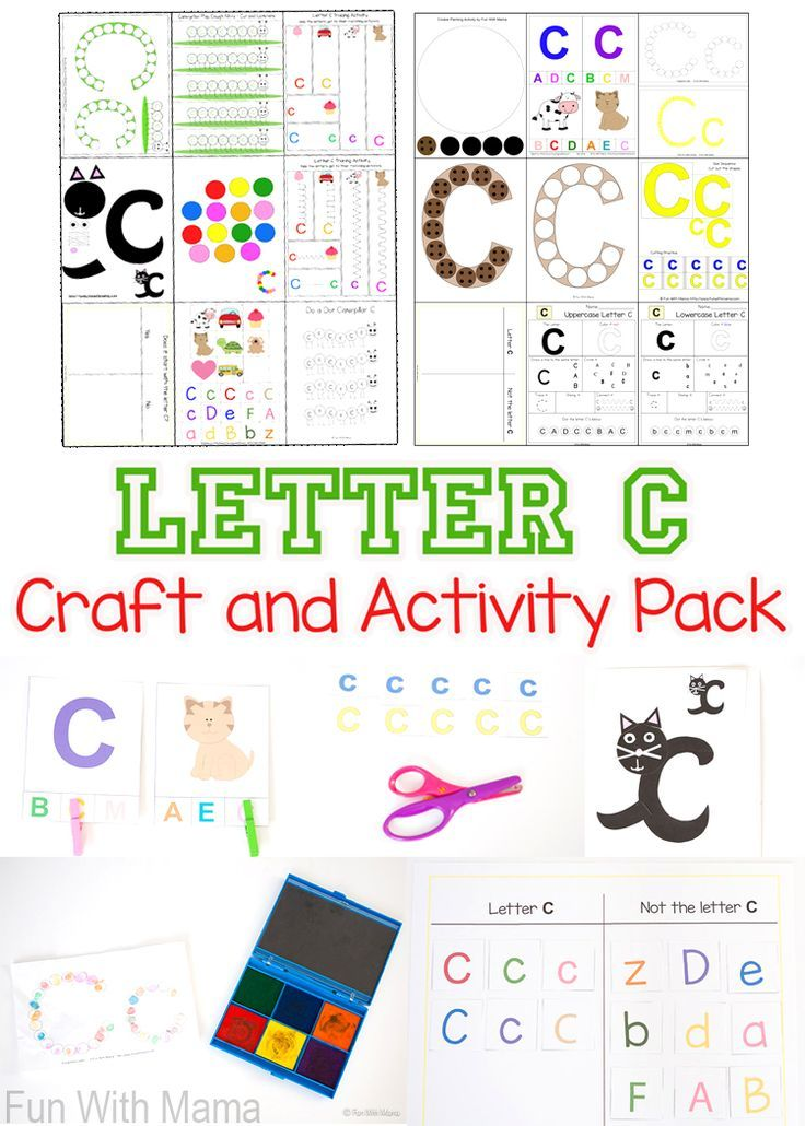 Printable Letter C Crafts And Activities Homeschool Curriculum