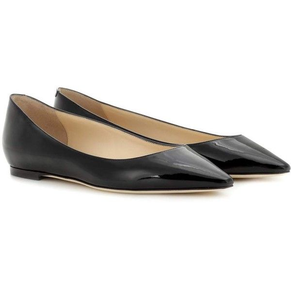 Jimmy choo Romy Flat patent leather ballerinas WfP87F