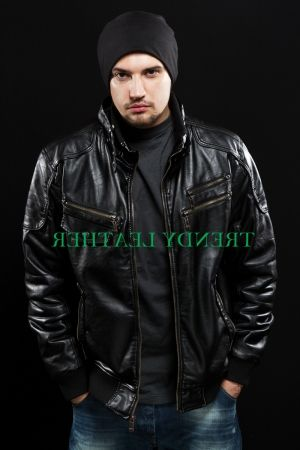 Stylish Leather Jackets For Young Men Inspire Men S Fashion