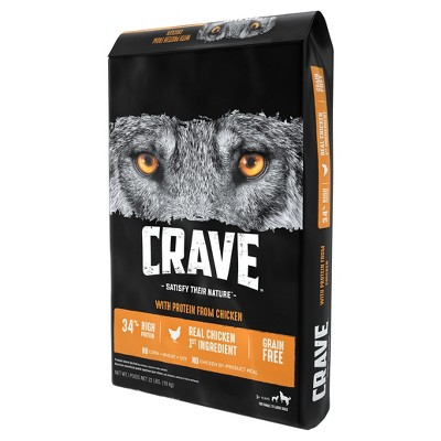 Crave Chicken & Duck Dry Dog Food 22lb Healthy dog