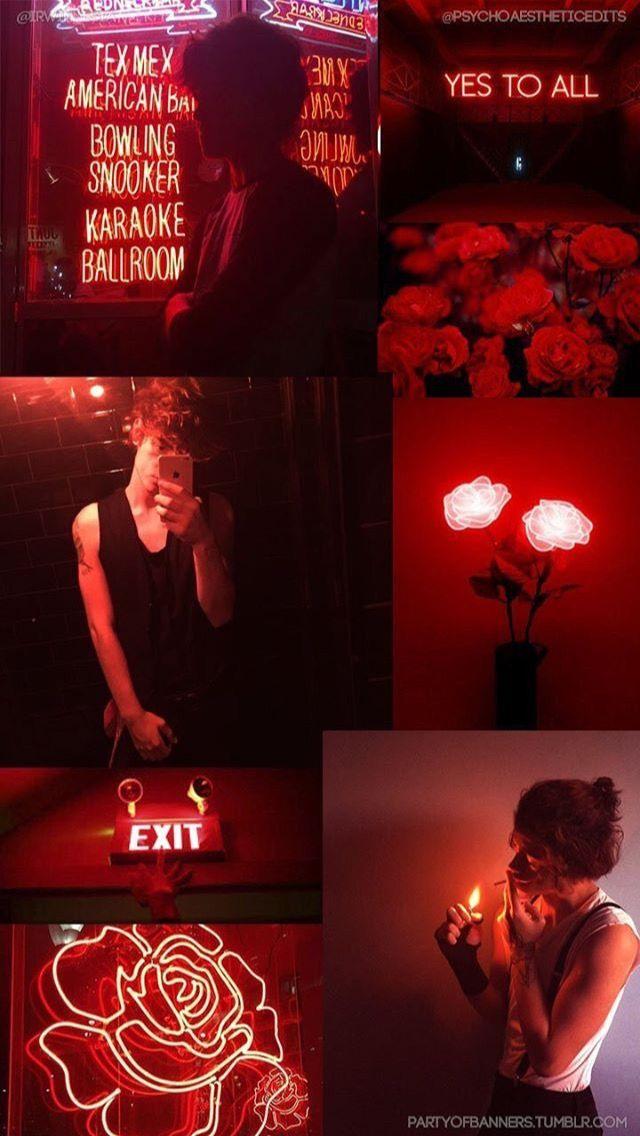 Pin By G E N E S I S 3 On T U M B L E R Red Aesthetic Dark Red Wallpaper Aesthetic Iphone Wallpaper