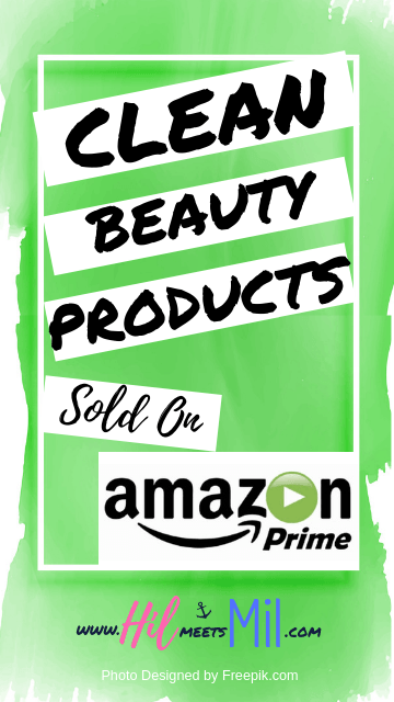 Clean Beauty Products Sold on Amazon Clean beauty, My