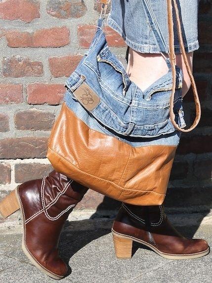 Lieblings - Jeans - Tasche | 2014--Einfach wunderschön | Pinterest ...