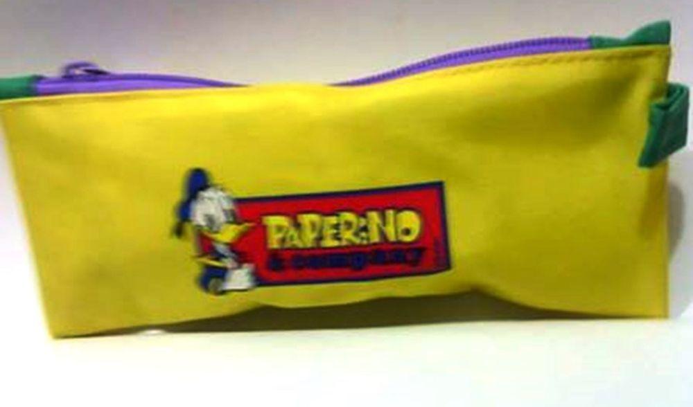 DISNEY PIGNA paperino e company bustina portacolori in plastica gialla