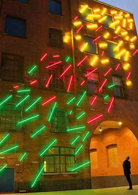 Neon Light installation climbing wall Follow on instagram @wanderscollectors