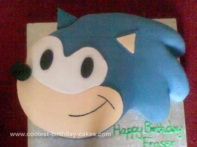 sonic the hedgehog cake coolest sonic the hedgehog birthday cake birthday cakes 7593