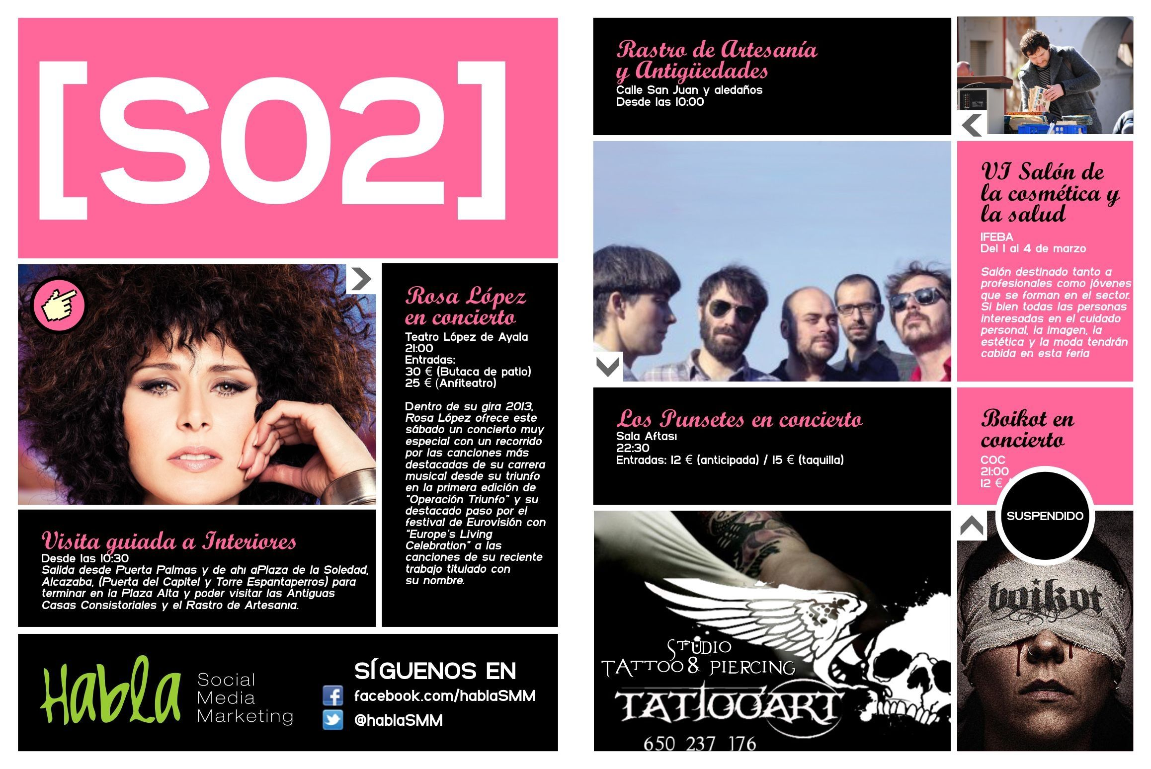 La agenda del sábado, de un vistazo en 48horas Badajoz
