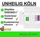 #Ticket  UNHEILIG KÖLN TICKETS SITZPLÄTZE INNENRAUM C4 / 10.09.16 ABSCHIEDSKONZERT #Ostereich