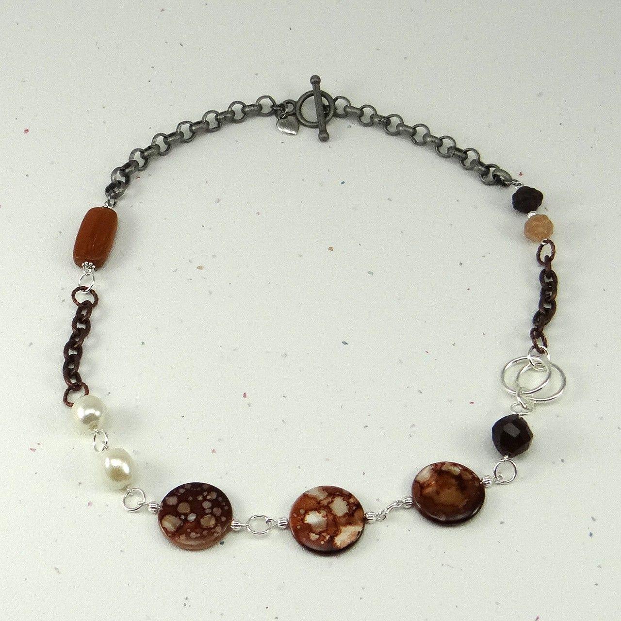 cavossa designs - Coffee Break Necklace, $28.00 (http://www.cavossadesigns.com/coffee-break-necklace/)
