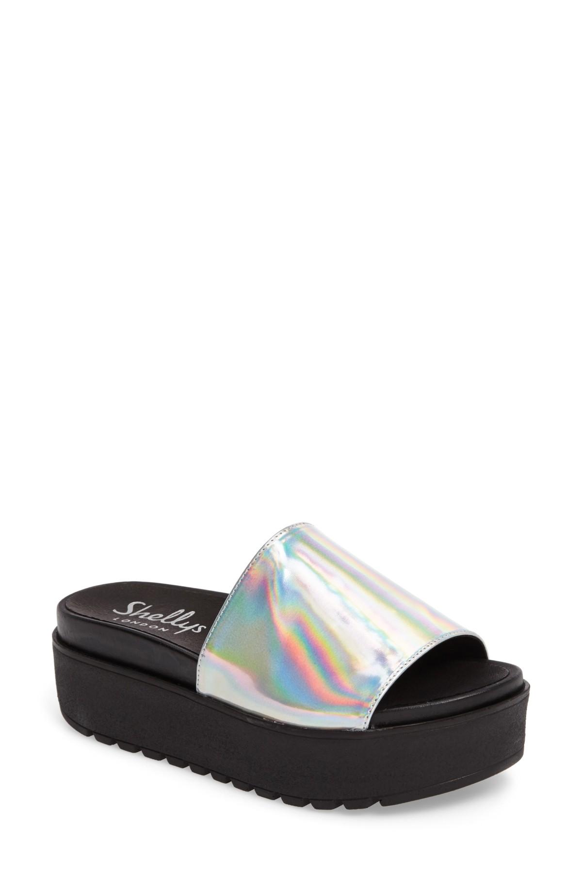 9c0cb06bd4 Shellys London | Kora Platform Slide | Products | Slide sandals ...