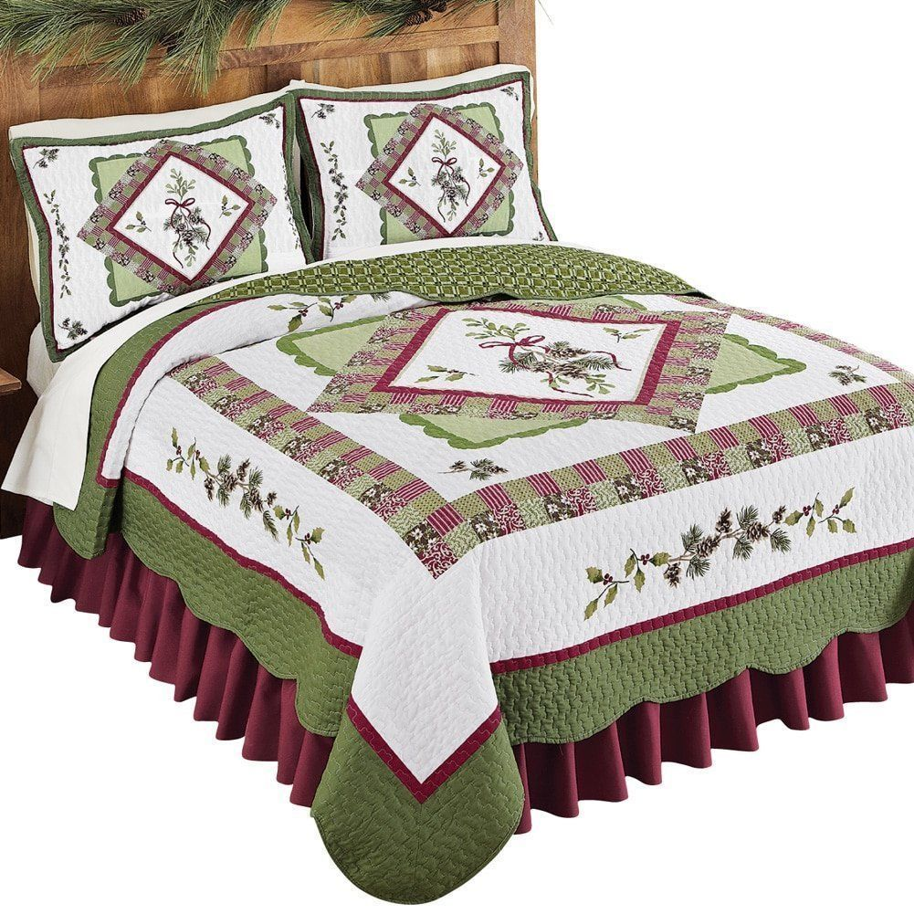 Rustic Holiday 3 Pc Cabin Woods Christmas King Size Quilt Bedding Set NEW https://t.co/GDZnbFKMg7 https://t.co/TQT9oizBX5