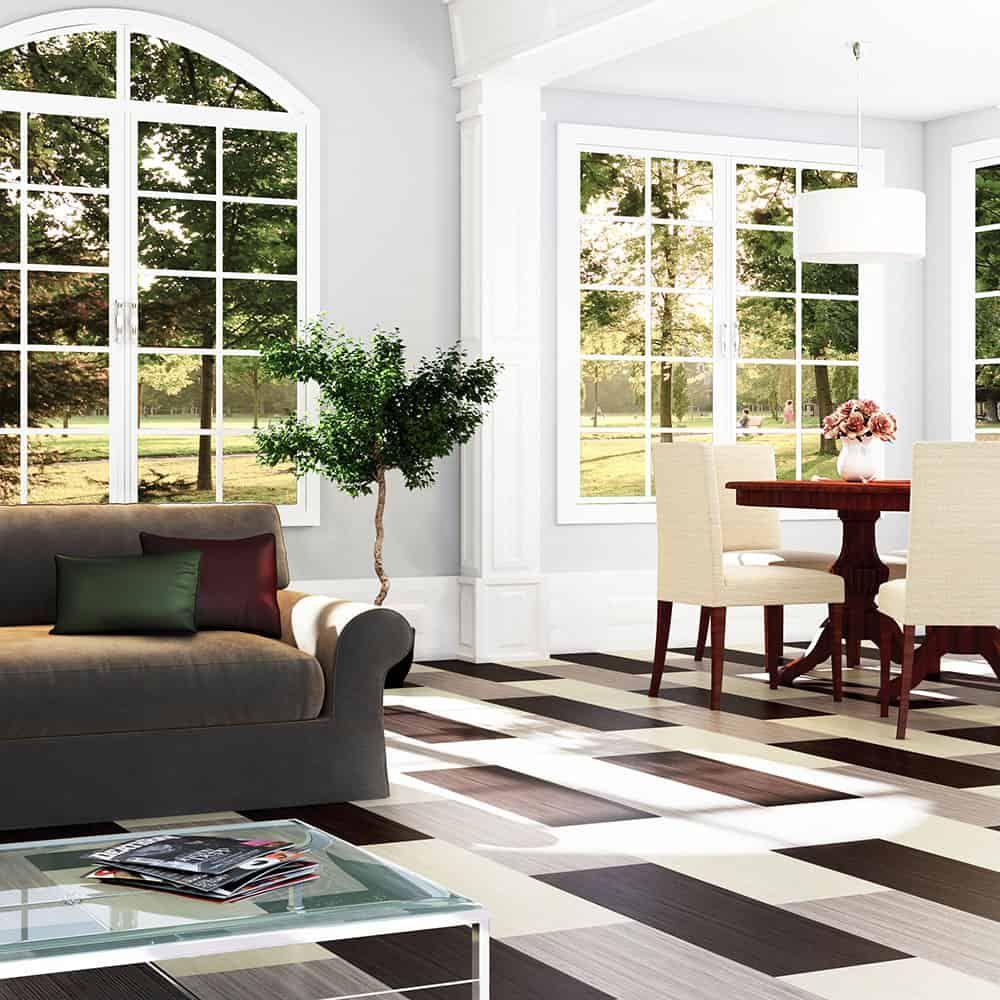 Marmoleum Click Cinch Loc Floating Floor Square Tiles