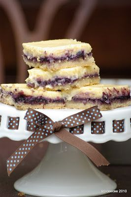 Within the Kitchen: July 2010  Blueberry cream cheese bars