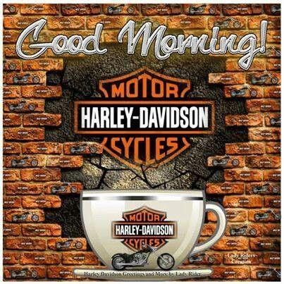 Good Morning Biker Mornings Harley Davidson Posters Harley Davidson Classic Harley Davidson