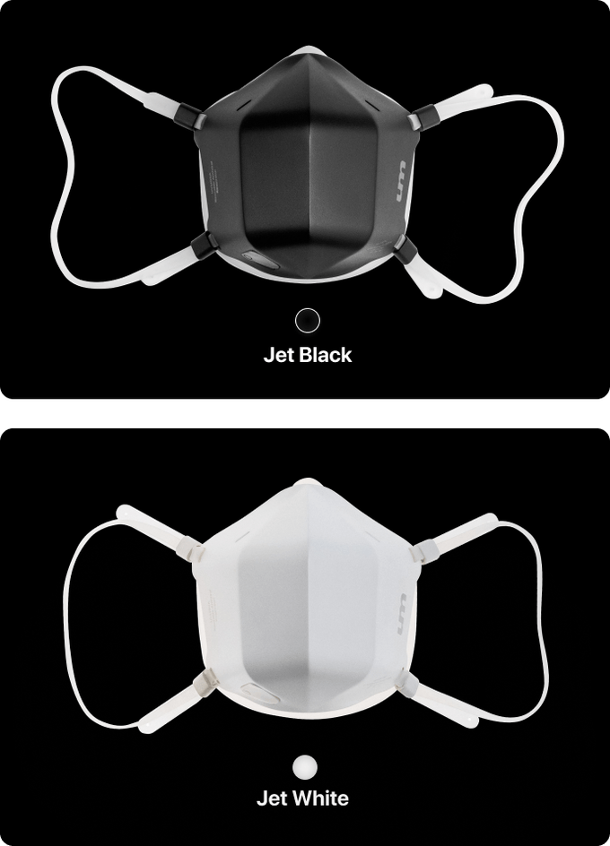 UVMask RealTime Active UVC Air Purification Face Mask