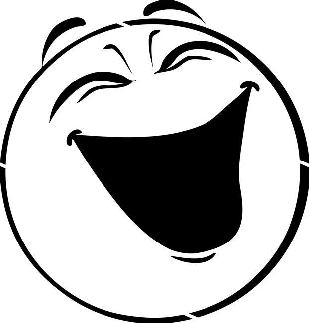 Laugh Clipart Clipart Panda Free Clipart Images Face Stencils Clip Art Laughing Smiley Face
