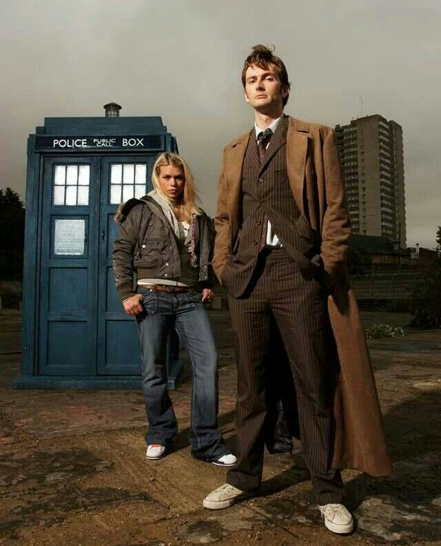 Rose and the 10th Doctor
