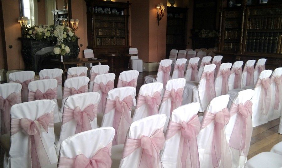 Image Result For Dusky Pink Wedding Chair Sashes Wedding