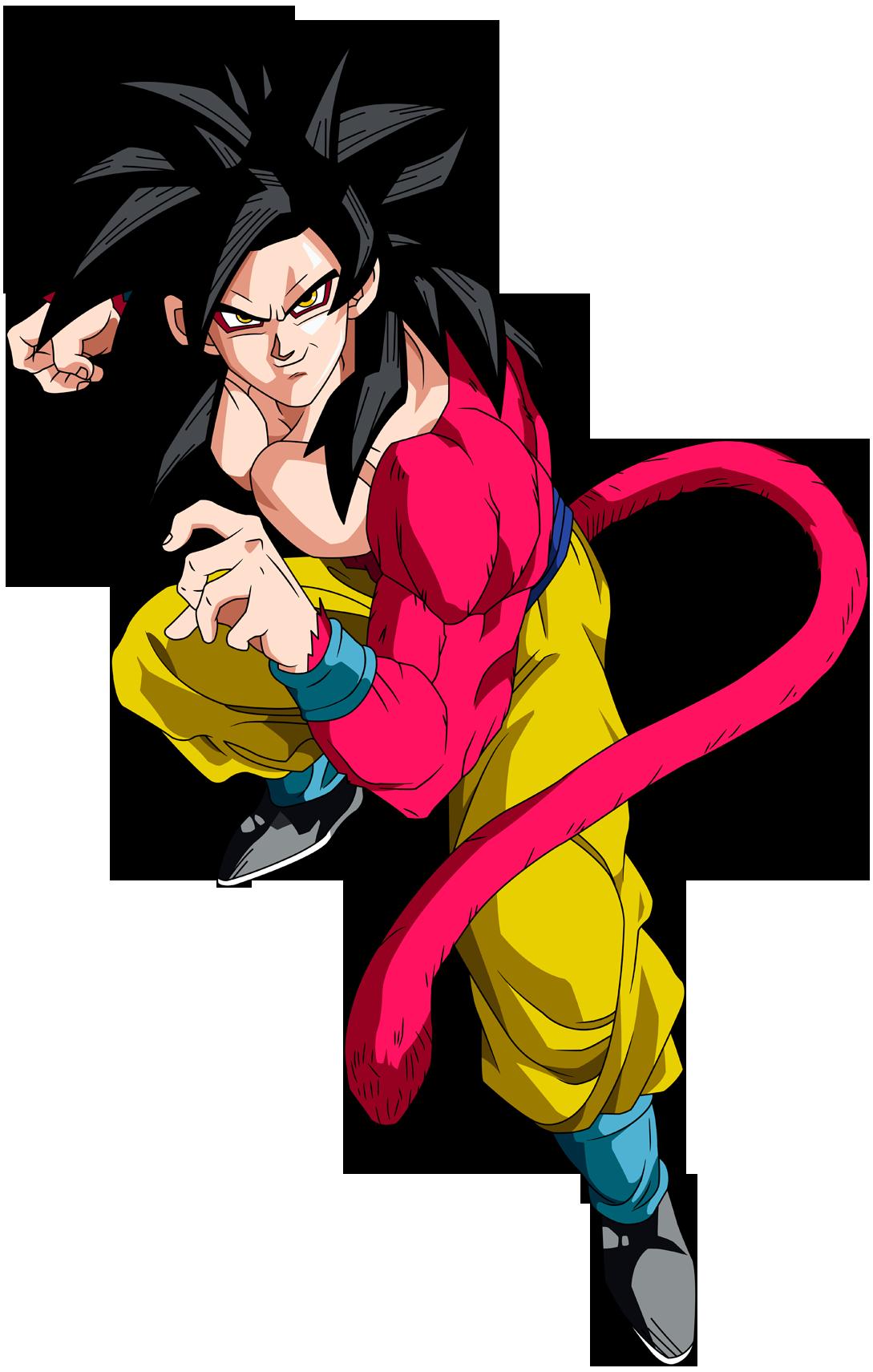 2294981 Goku Ssj 4 Png 1089 1711 Personajes De Goku Ssj 4 Personajes De Dragon Ball