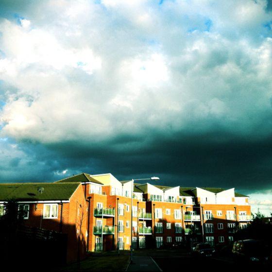 The Sky over Dagenham Essex