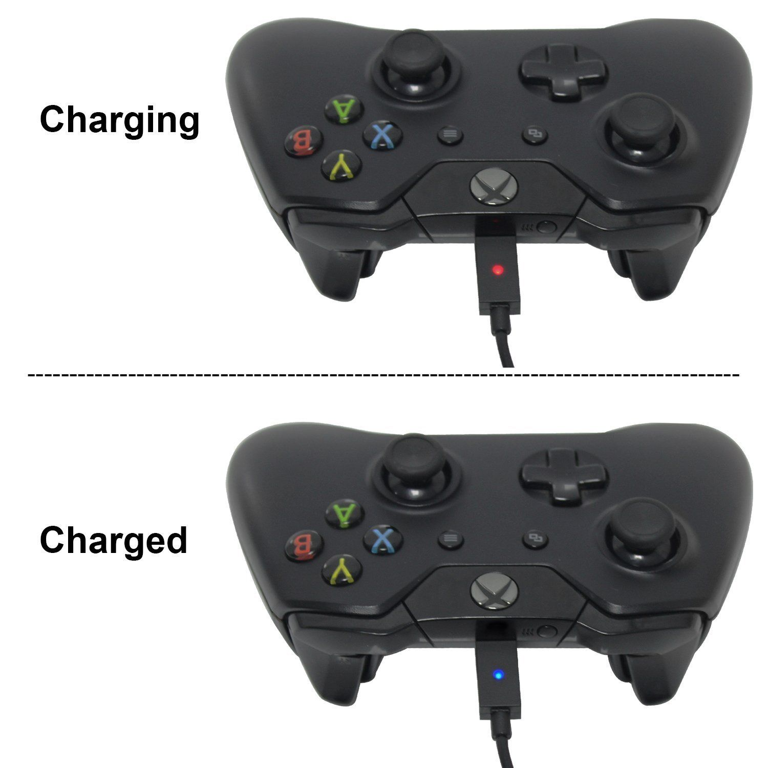 Xbox One Battery Pack 2pcs X 1200 Mah Xbox One Rechargeable Battery And 5ft Micro Usb Charging Cable With Led Indica Video Game Shop Xbox One S Video Games Ps3