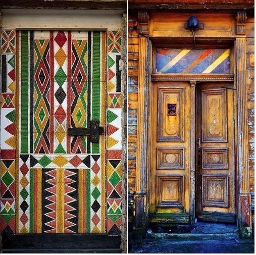 funky doors & funky doors | Welcome my friend....... | Pinterest
