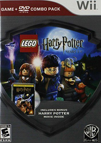 Lego Harry Potter Years 1 4 Silver Shield Combo Pack Nintendo Wii Most Wanted Christmas Toys Lego Harry Potter Harry Potter Years Harry Potter Games