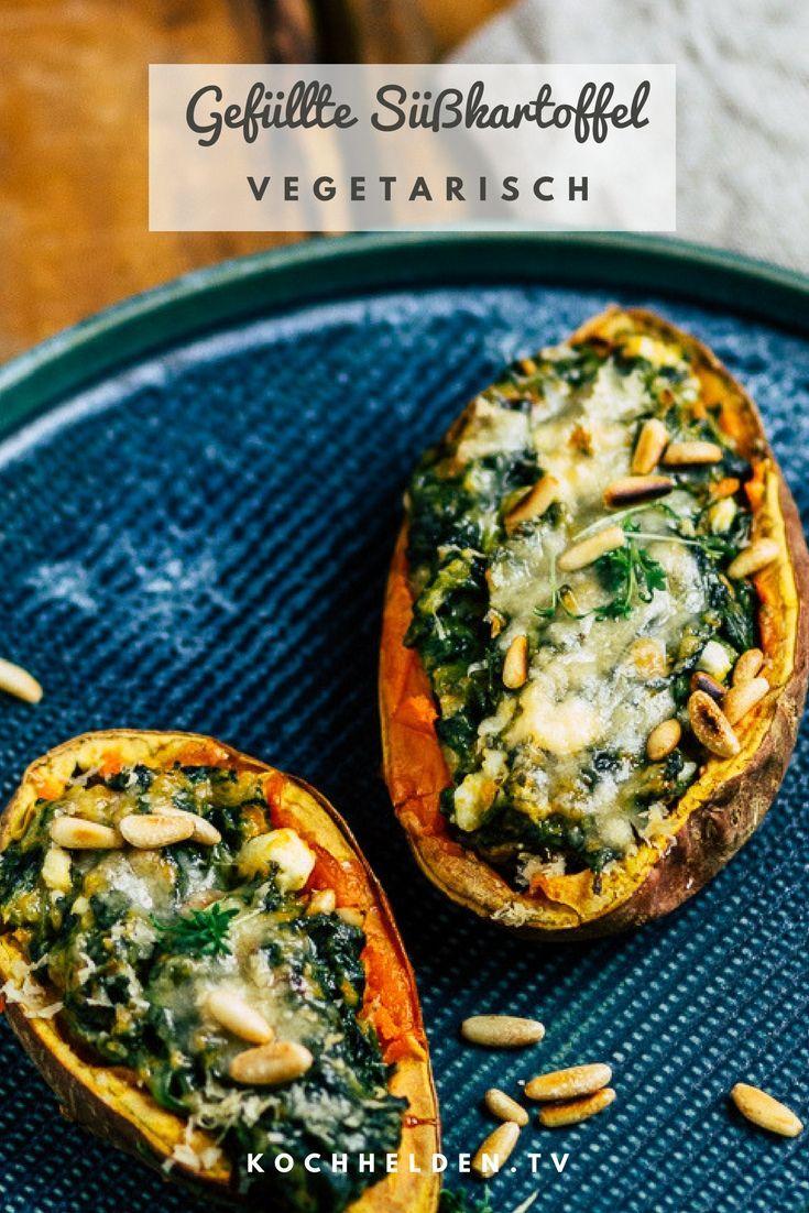 Gefüllte Süßkartoffel – ein variantenreiches Essen - Healthy Food Recipes
