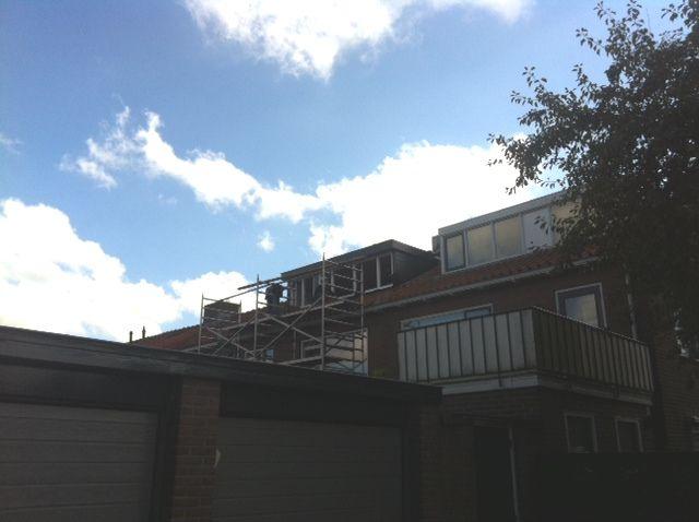 Prefab dakkapel geplaatst bij onze opdrachtgever in Hilversum // J. van Esseveld & Zn.