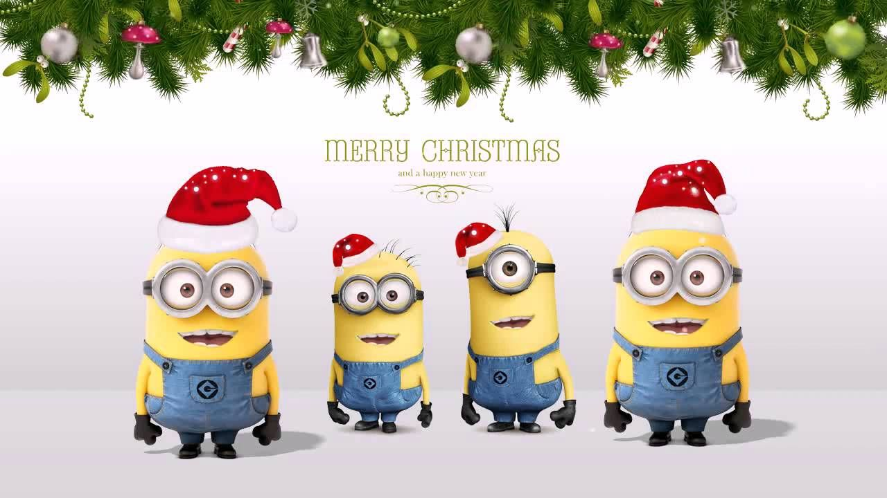 Funny Minion Merry Christmas Wallpapers Sayings: Funny Christmas Minion Pictures