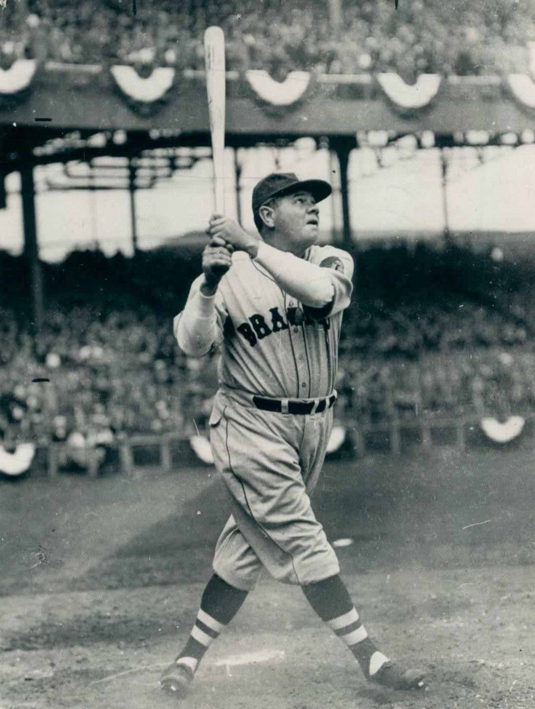 Babe Ruth's Last Game HR, 1935. Babe ruth, Braves