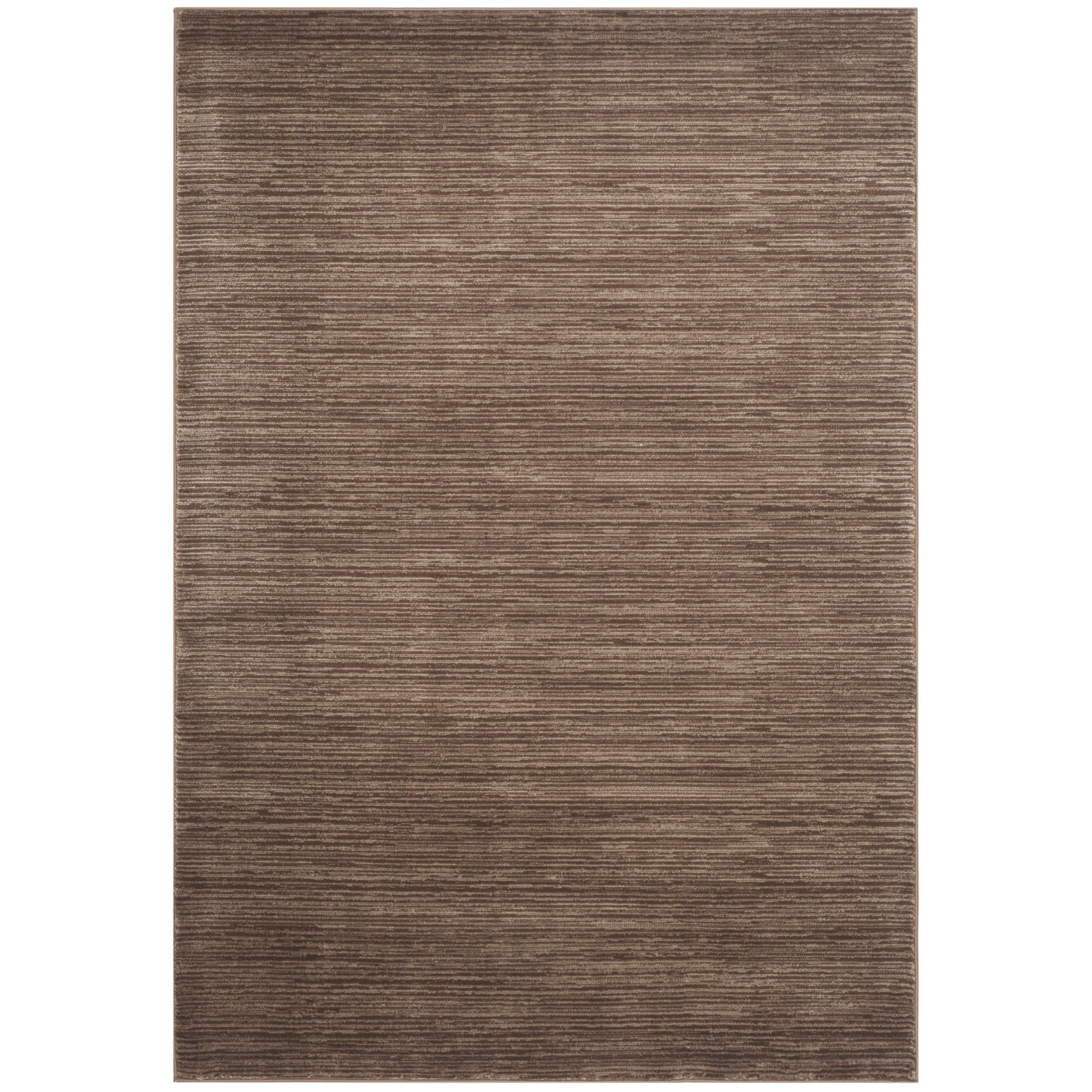 Safavieh Vision Contemporary Tonal Brown Area Rug (3' x 5') , Size 3' x 5' (Polypropylene, Geometric)