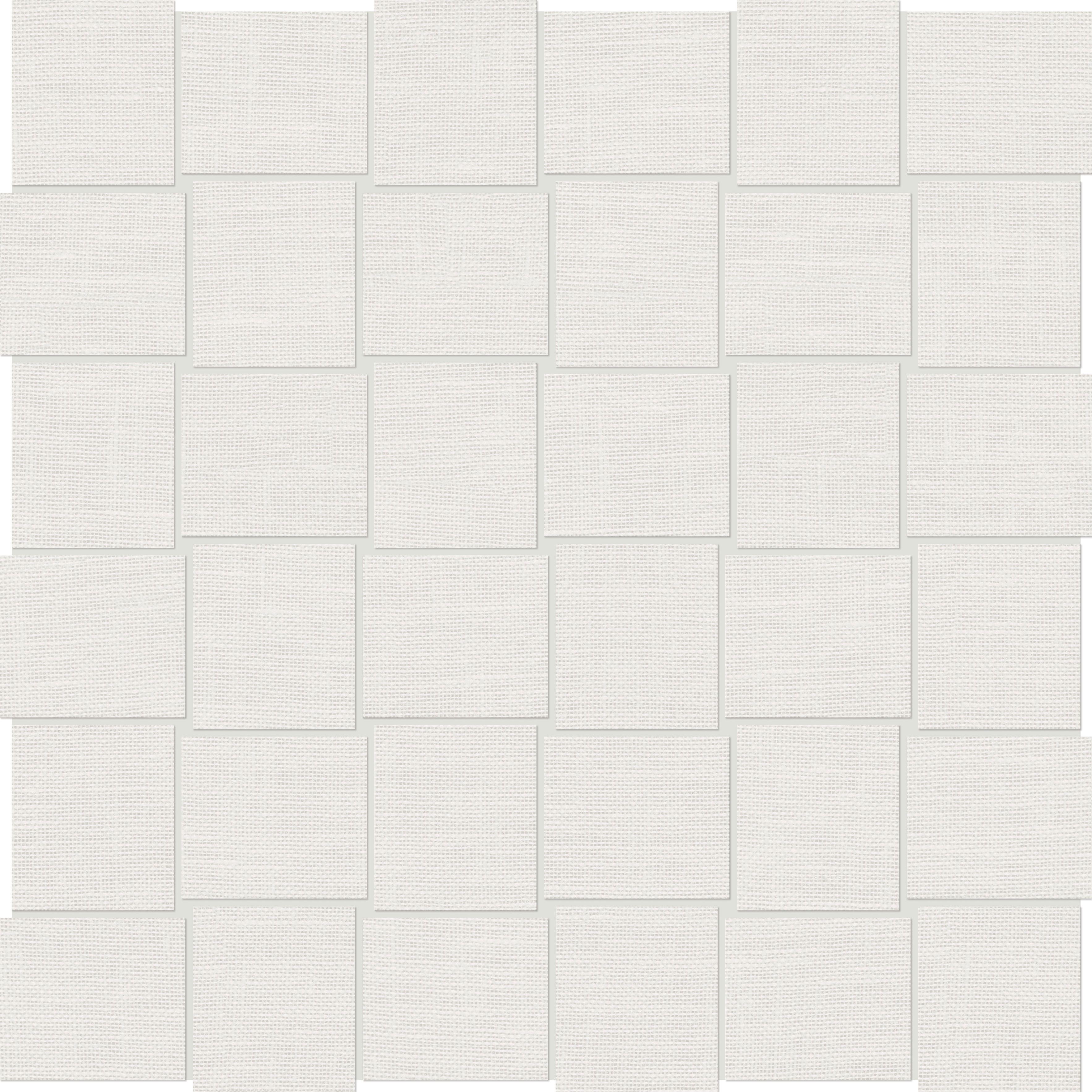 69 087 2 Quot X2 Quot Belgian Linen Ivory Basketweave Mosaics