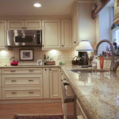 Colonial Cream Granite Design Pictures Remodel Decor