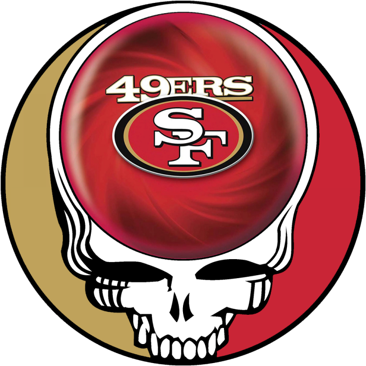 san francisco 49ers grateful dead stealie 49ers Logo