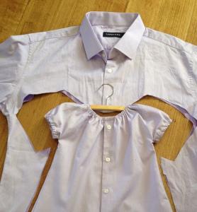 Mens Shirt Upcycle