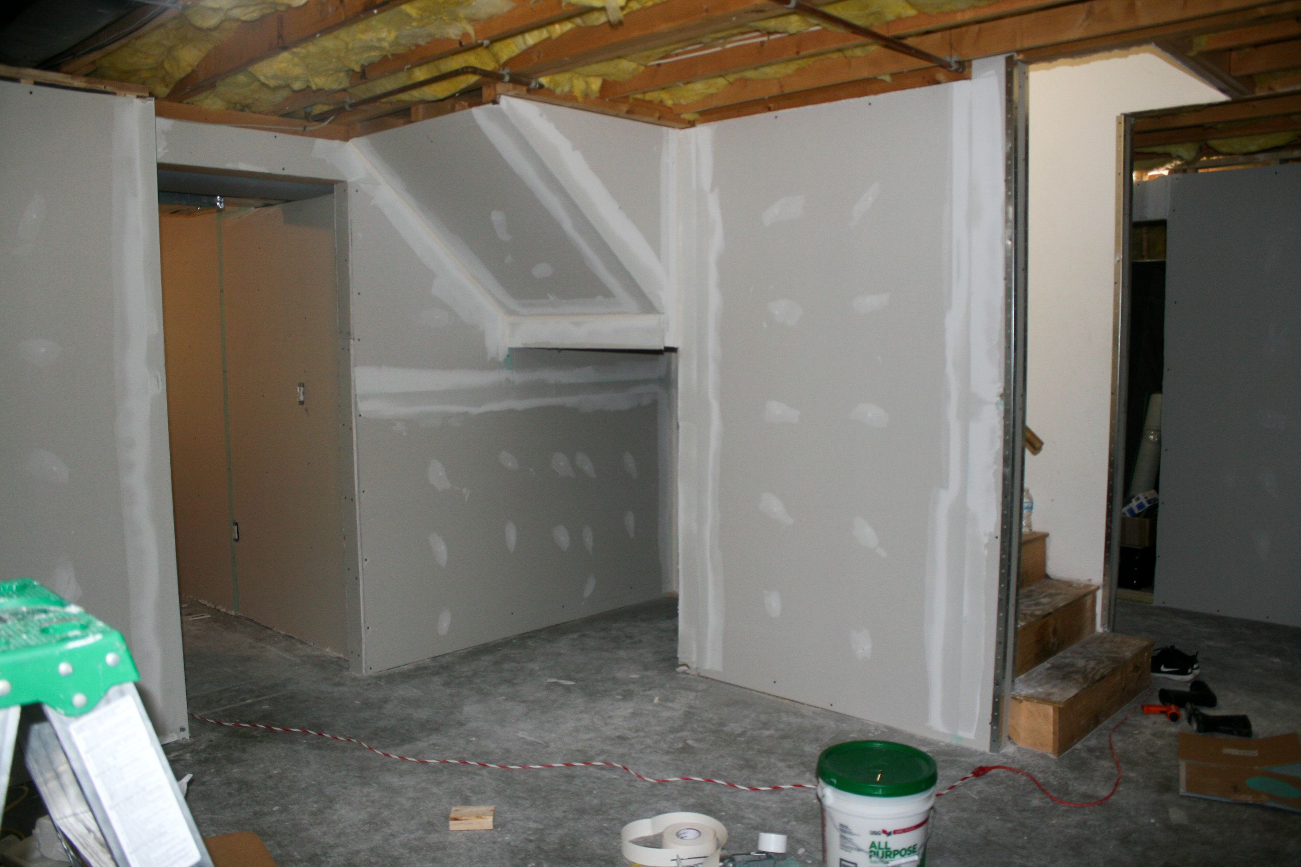 Finishing the basement now its getting real basements house solutioingenieria Choice Image