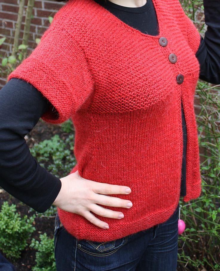 Short Sleeve Cardigan Knitting Patterns | Shorts, Videos and Garter