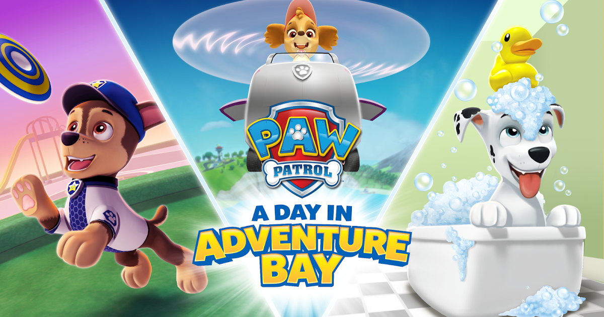 Paw Patrol A Day In Adventure Bay Is Available To Download On Apple Ios Amazon And Google Play Starting January 27 In 2020 Paw Patrol Nickelodeon Paw Patrol Stickers