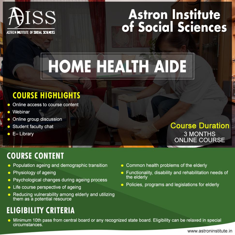 The Scope Of Home Health Aide Training Home Health Aide Home Health Science Blog